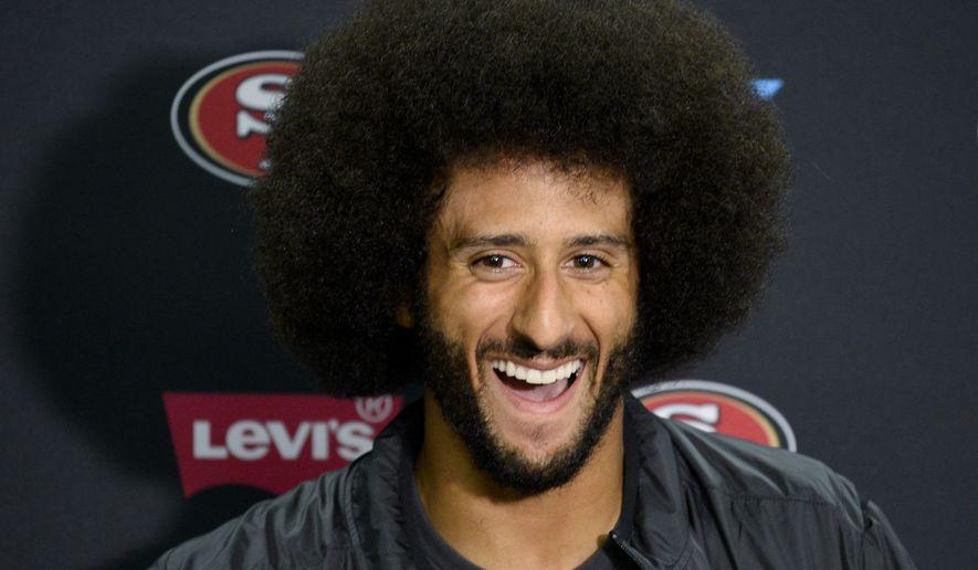 San Francisco 49ers Quarterback Colin Kaepernick Talks To