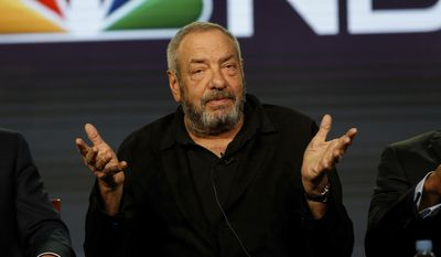 """Executive Producer Dick Wolf speaks at the NBC's """"Chicago Justice"""" panel at the 2017 Television Critics Association press tour on Wednesday, Jan. 18, 2017, in Pasadena, Calif. (Photo by Willy Sanjuan/Invision/AP)"""