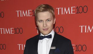 In this April 24, 2018, file photo, Ronan Farrow attends the Time 100 Gala celebrating the 100 most influential people in the world in New York. (Photo by Evan Agostini/Invision/AP, File)