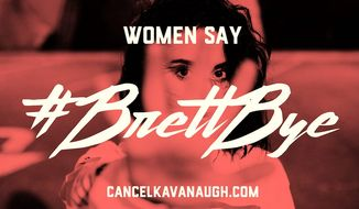 "Organizers behind the protests during Brett Kavanaugh's confirmation hearings have declared that the situation is now ""an emergency."" (Women's March)"