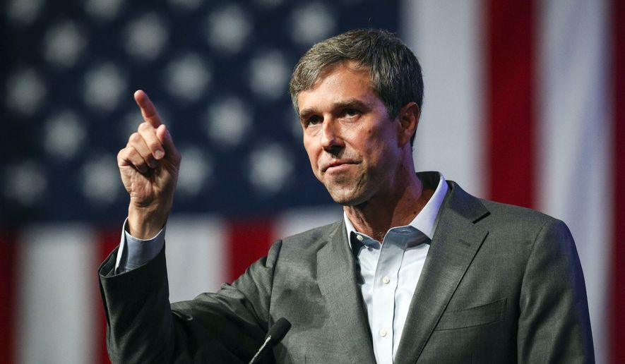 Beto Orourke Speaks During The General Session At The Texas Democratic Convention