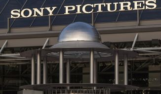 This Dec. 19, 2014, photo shows an exterior view of the Sony Pictures Plaza building in Culver City, Calif.  The Justice Department is preparing to announce charges in connection with a devastating 2014 hack of Sony Pictures Entertainment. (Associated Press) **FILE**