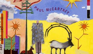 """This cover image released by Capitol Records shows """"Egypt Station,"""" the latest release by Paul McCartney. (Capitol via AP)"""