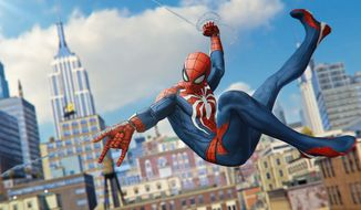 Our favorite web slinger stars in the video game Marvel's Spider-Man. (Courtesy Sony Computer Entertainment)
