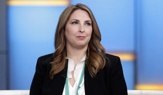 Republican National Committee Chairwoman Ronna McDaniel shown in an undated file photo from 2018.  (Associated Press) ** FILE **