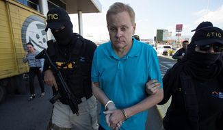 Eric Conn was captured in Honduras and extradited in December. An extra 15 years in prison was added to his sentence for fleeing just before he was slated to testify in a trial against one of the doctors about his role in a massive Social Security fraud case. (Associated Press/File)