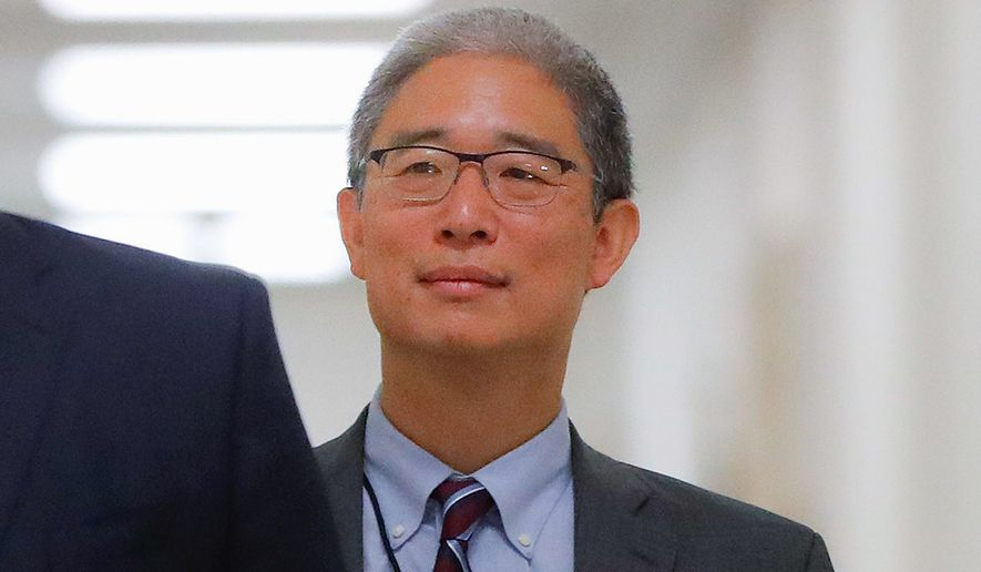 Justice Department official Bruce Ohr has emerged as a pivotal player in the FBI's counterintelligence investigation, beginning in July 31, 2016, into the Trump campaign on suspicion of collusion with Russia. (Associated Press/File) ** FILE **