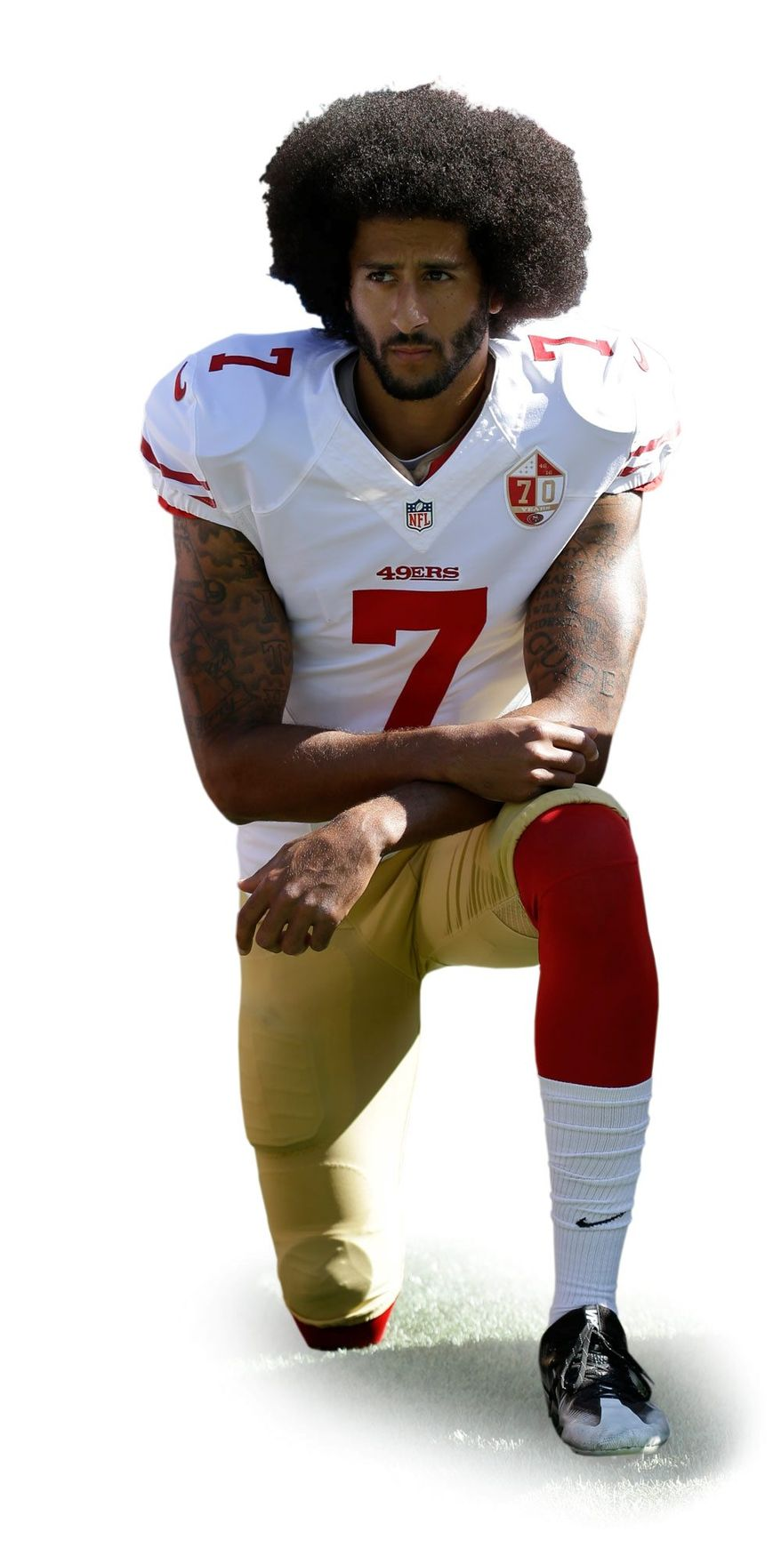 Colin Kaepernick. (Associated Press)