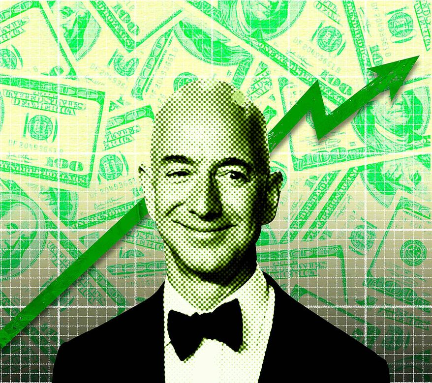 The Richest Man Illustration by Greg Groesch/The Washington Times