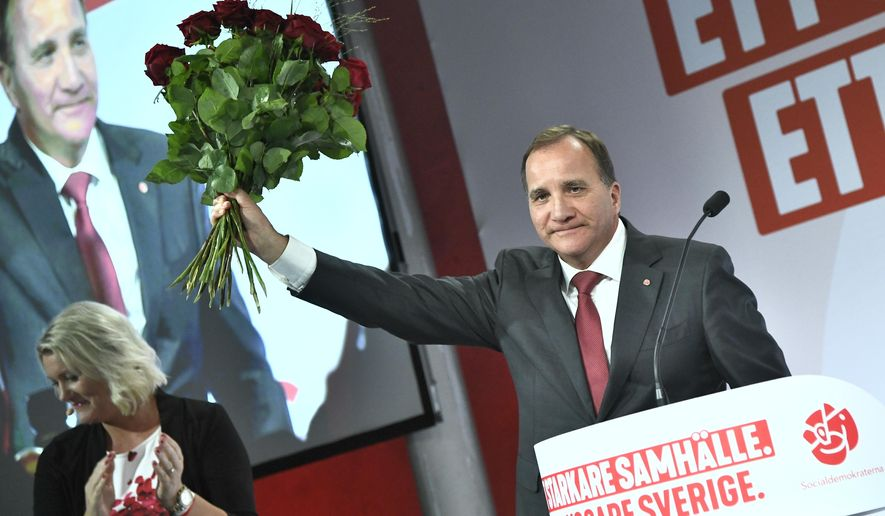 Sweden Election 374 Joins Europes Move To Right Over Migration Backlash Washington Times