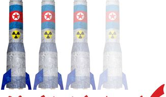 Nuke Verification Illustration by Greg Groesch/The Washington Times