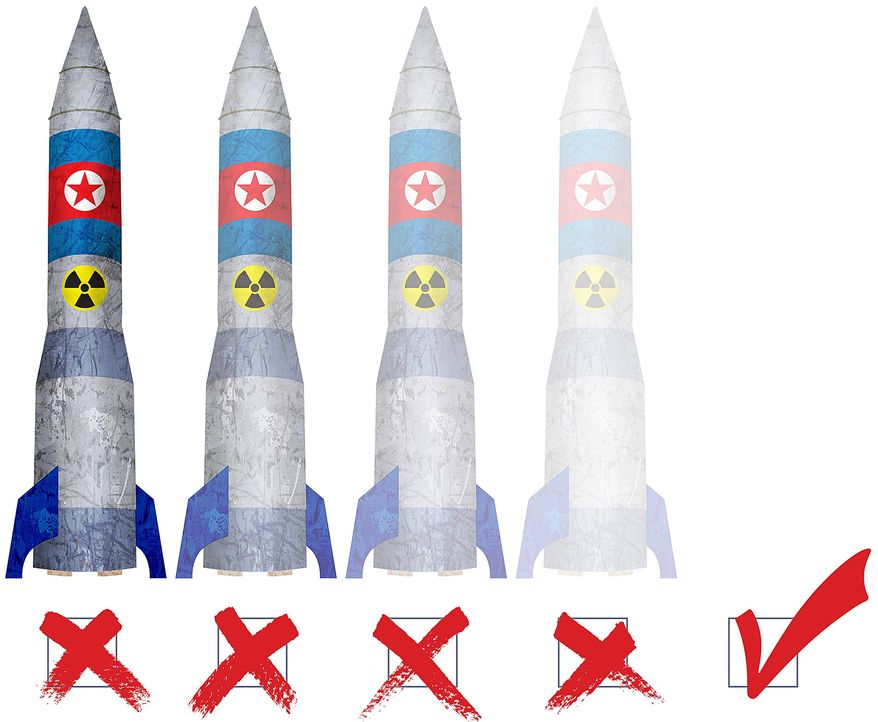 Nuke Verification Illustration by Greg Groesch/The Washington Times