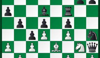 Raskin (et al.)-Kasparov after 22...Rf8-f6.
