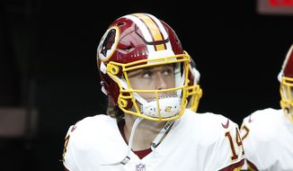 Washington Redskins wide receiver Trey Quinn (14) during an NFL football game against the Arizona Cardinals, Sunday, Sept. 9, 2018, in Glendale, Ariz. (AP Photo/Rick Scuteri) **FILE**