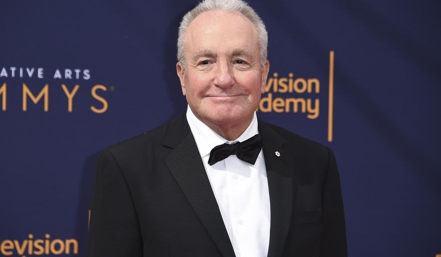 FILE - In this Sept. 9, 2018 file photo, Lorne Michaels arrives at the Creative Arts Emmy Awards in Los Angeles. Michaels with produce The Emmy Awards ceremony, Sept. 17 on NBC. (Photo by Richard Shotwell/Invision/AP, File)