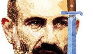 Armenian Ballot Illustration by Greg Groesch/The Washington Times