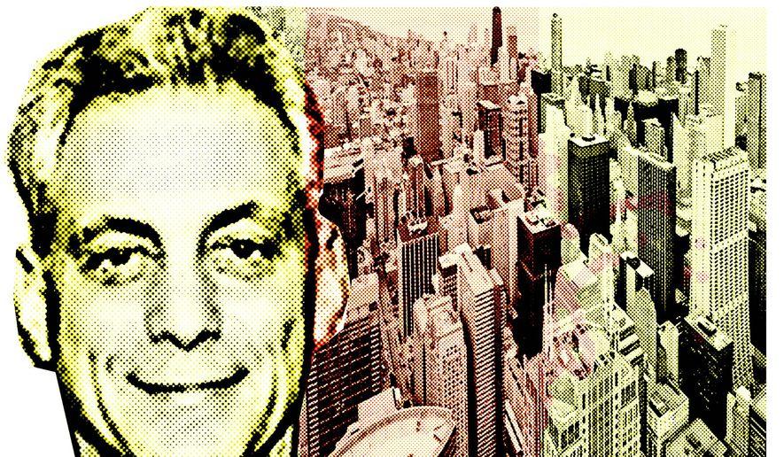 Illustration on Rahm Emanuel's tenure as mayor of Chicago by Alexander Hunter/The Washington Times