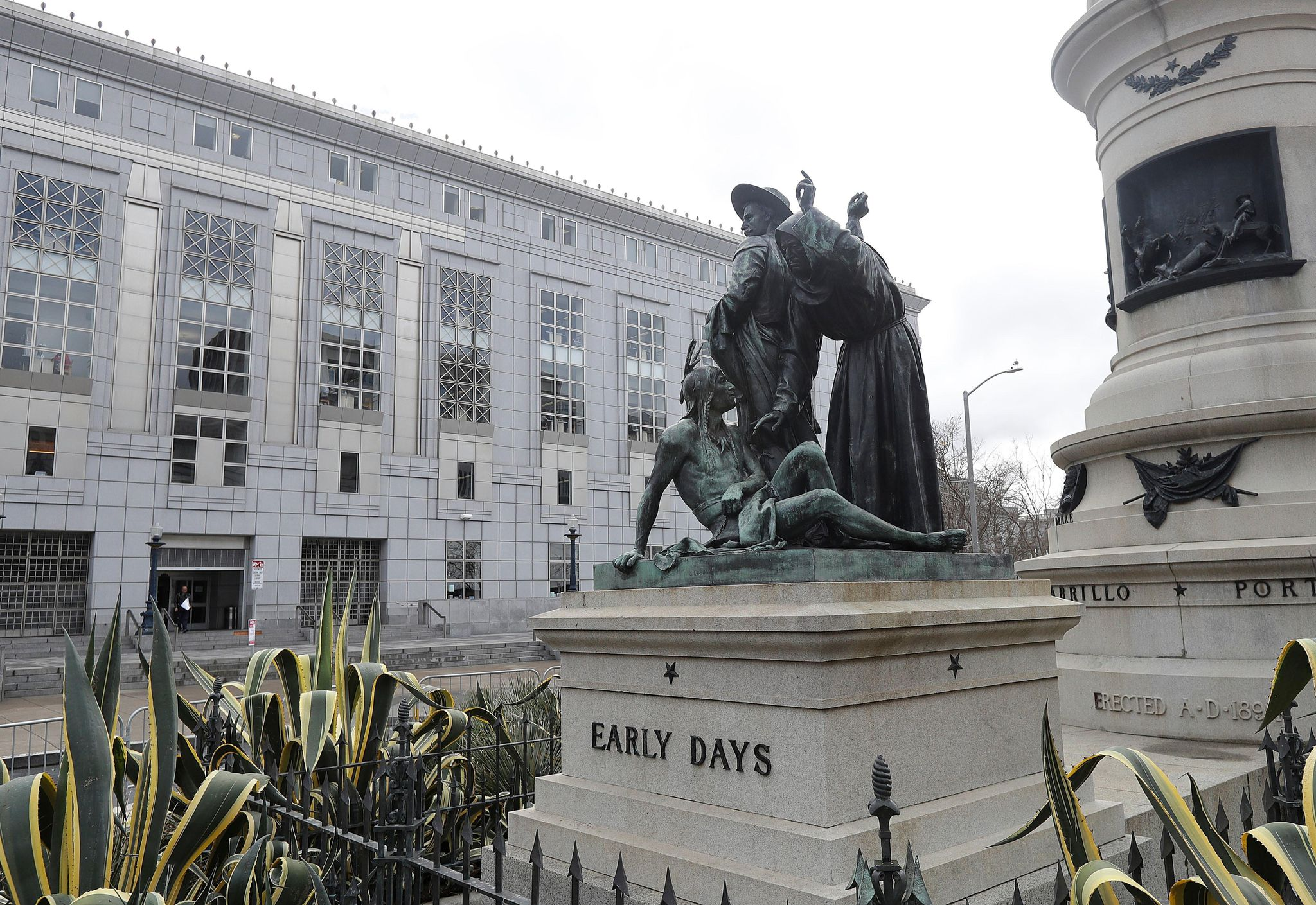 San Francisco statue that some call racist is removed - Washington Times