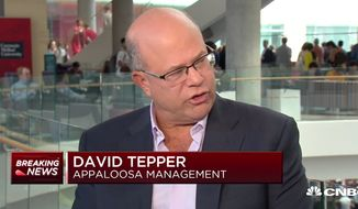 """Carolina Panthers owner David Tepper mocked President Trump on CNBC as the """"red-headed guy in D.C."""" while talking about the NFL's ongoing national anthem protests, Sept. 14, 2018. (Image: CNBC screenshot)"""