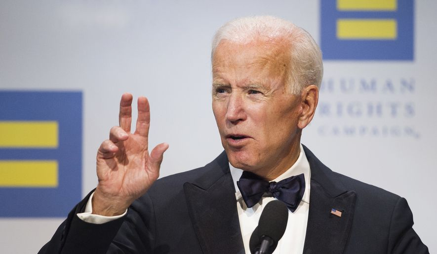 joe biden dregs of society support donald trump washington times