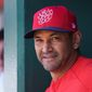 Washington Nationals manager Dave Martinez said he will talk with each member of the coaching staff after the season to discuss the team's future. (ASSOCIATED PRESS)
