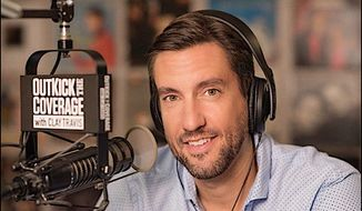 "Fox Sports Radio host Clay Travis has a new book arriving ""Republicans Buy Sneakers Too: How the Left is Ruining Sports with Politics."" (Clay Travis)"