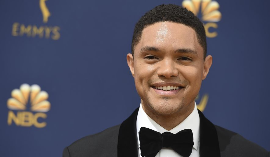 Trevor Noah arrives at the 70th Primetime Emmy Awards on Monday, Sept. 17, 2018, at the Microsoft Theater in Los Angeles. (Photo by Jordan Strauss/Invision/AP) ** FILE **