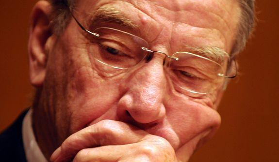 Sen. Chuck Grassley. (Associated Press) ** FILE **