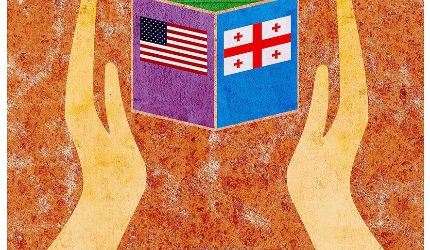 Handle Trade with Care Illustration by Greg Groesch/The Washington Times