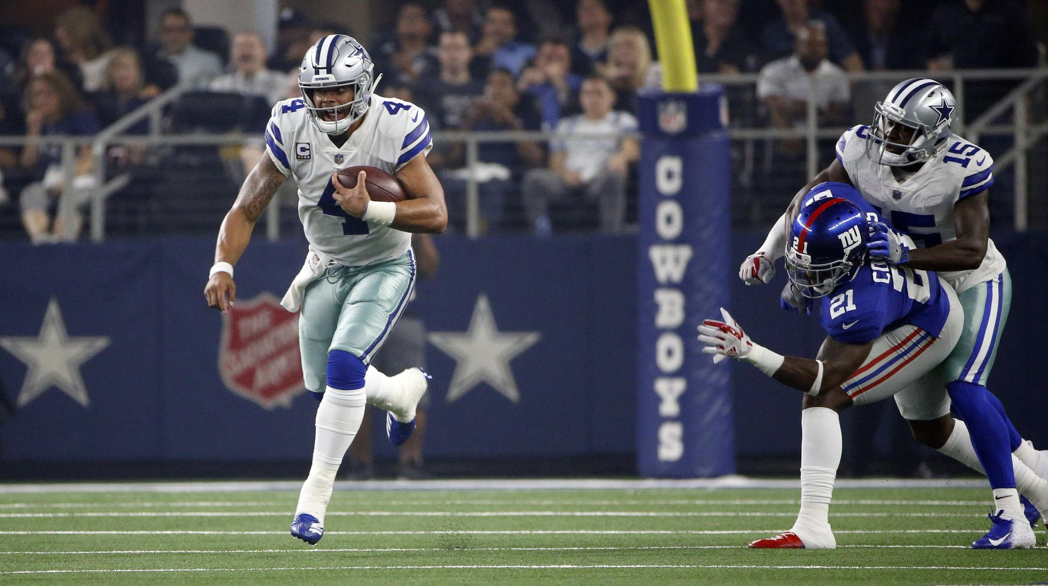 Cowboys see Prescott's runs as another way to help...