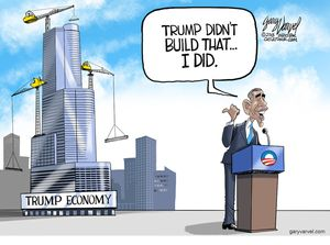 Trump didn't build that ...