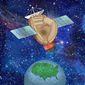 Ballistic Missile Intercept System Illustration by Greg Groesch/The Washington Times