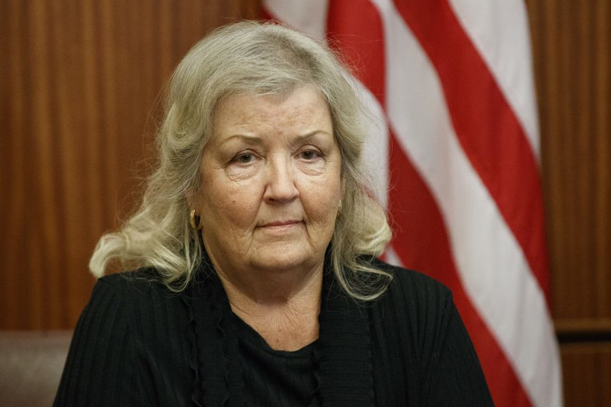 """It's absurd,"" Juanita Broaddrick said Wednesday. ""Not one Democrat would look at my deposition with the independent counsel. Oh my gosh, they did not want to know about it."" (Associated Press photograph)"