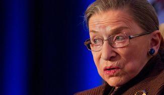 Justice Ruth Bader Ginsburg   Associated Press photo