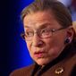 Justice Ruth Bader Ginsburg. (Associated Press) ** FILE **