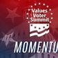 "The 12th annual Values Voters Summit has arrived in the capital to emphasize the ""momentum"" and lasting power of America's values. (Family Research Council)"
