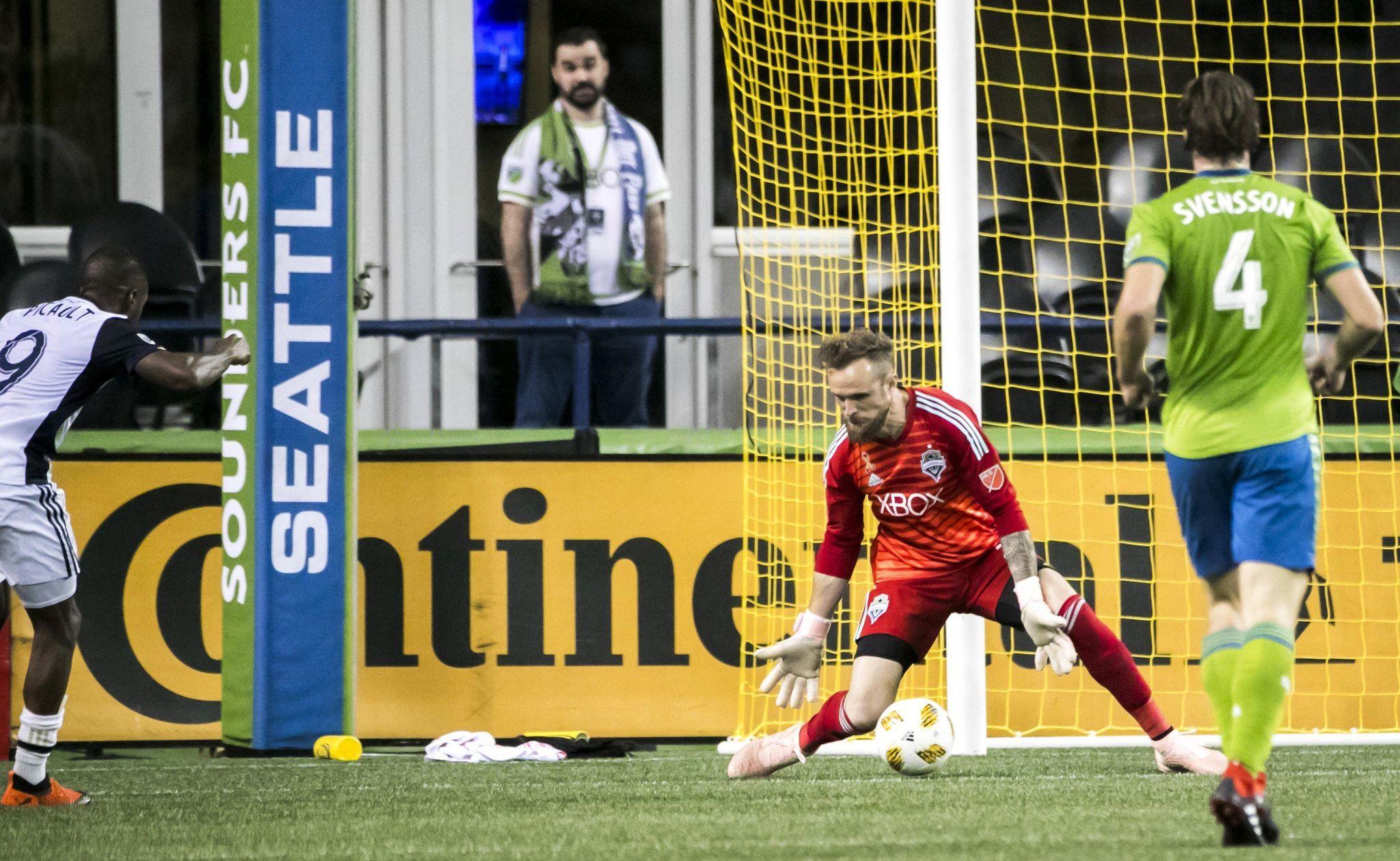 Picault's late goal helps Union end Sounders' win streak - Washington Times