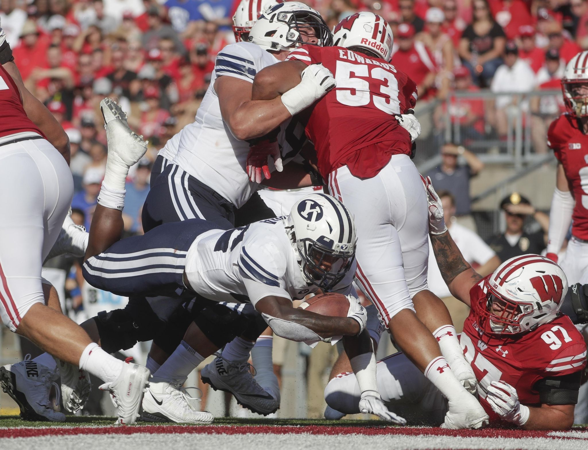 BYU showing toughness amid rugged early schedule - Washington Times