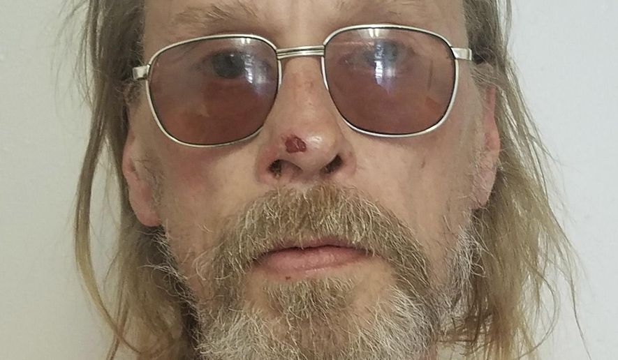 FILE - This undated file photo released by the Costilla County Sheriff's Office shows Jesper Joergensen. A judge has ruled that the Denmark native will stand trial for 141 counts of arson, representing the homes and buildings destroyed by the third-largest wildfire recorded in Colorado.  (Costilla County Sheriff's Office via AP, file)