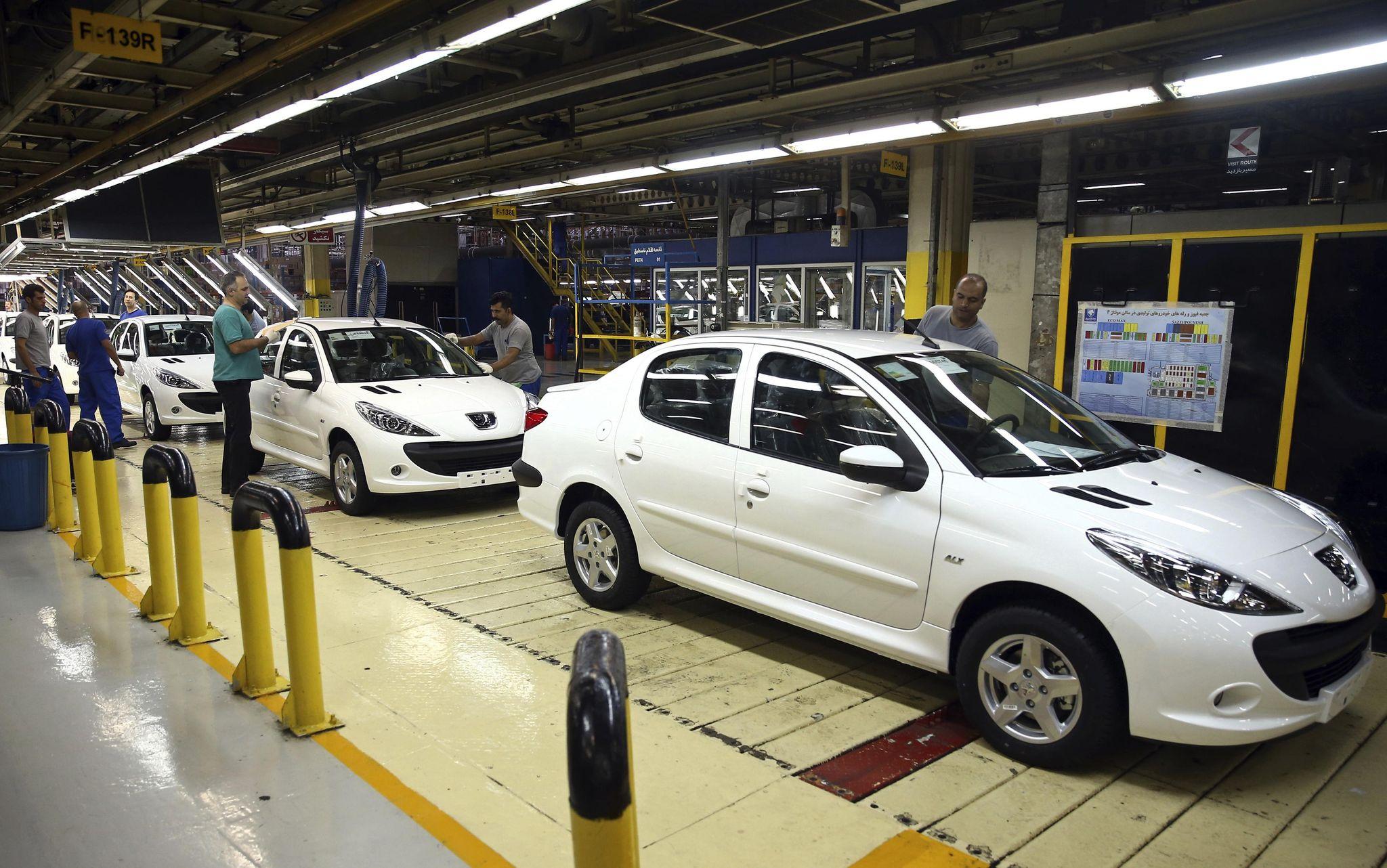 Iran's domestic car market stalls as nuclear deal falters - Washington Times