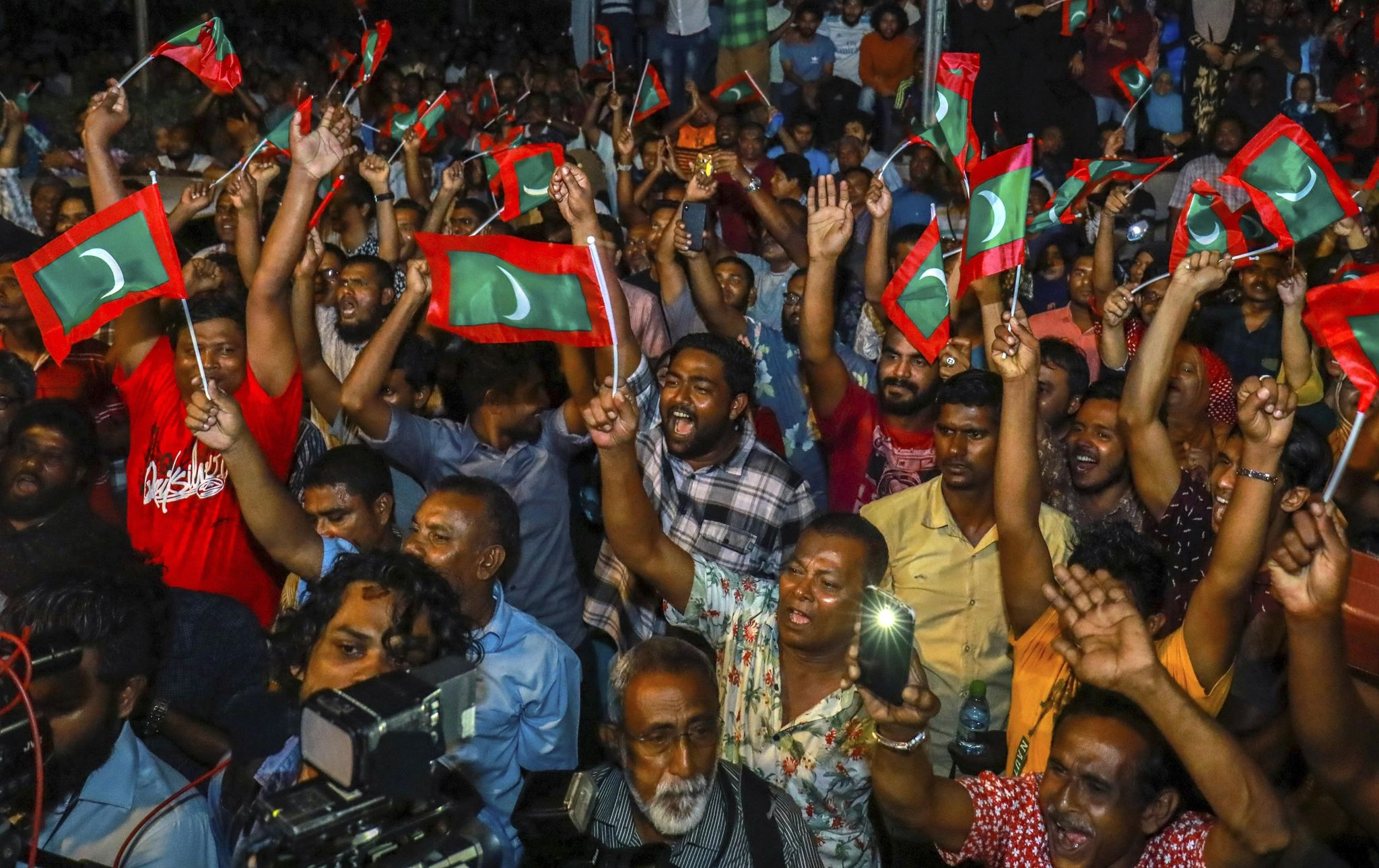 Timeline of political events leading up to Maldives election - Washington Times