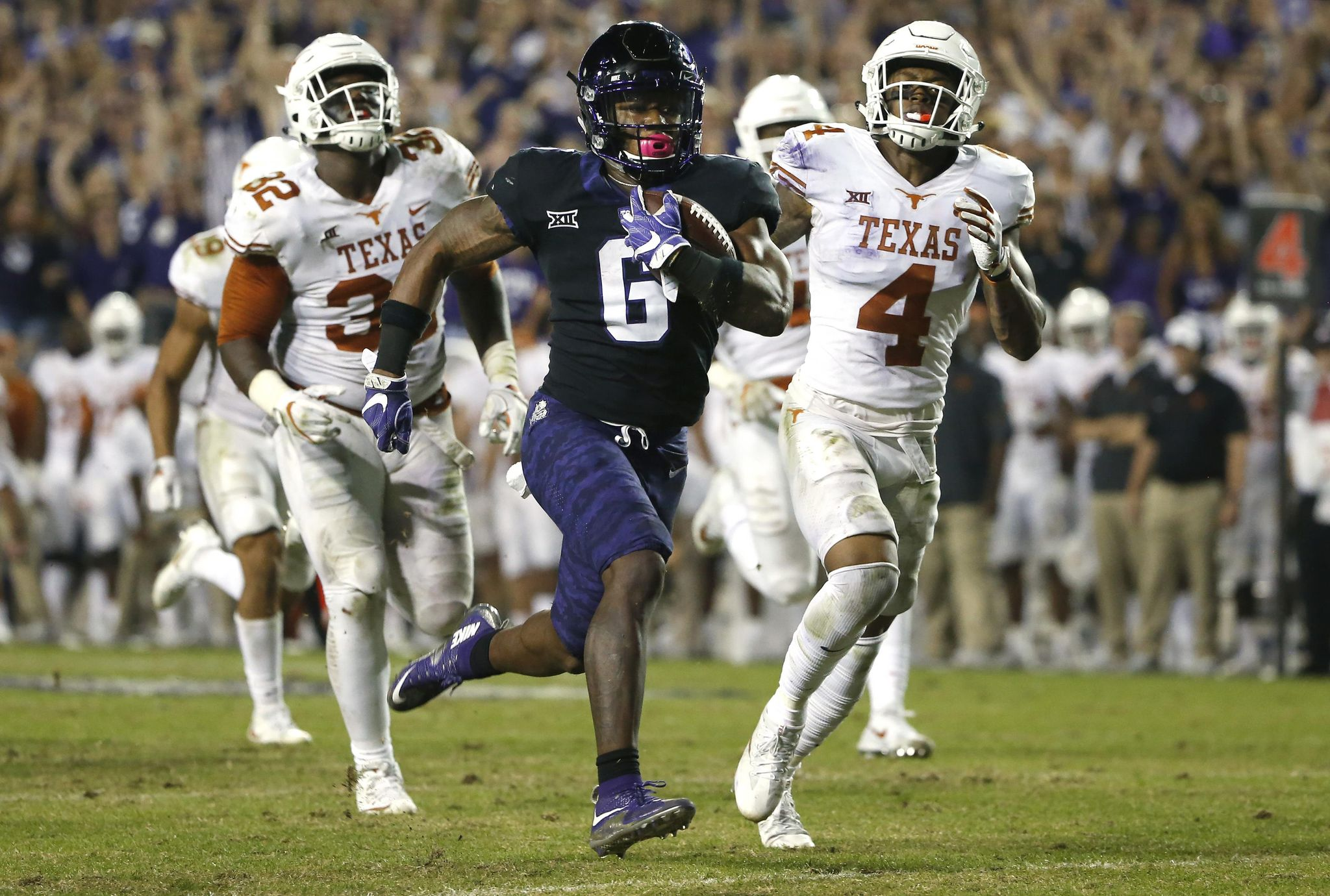 Texas looking to end run of TCU domination in Big 12 rivalry - Washington Times