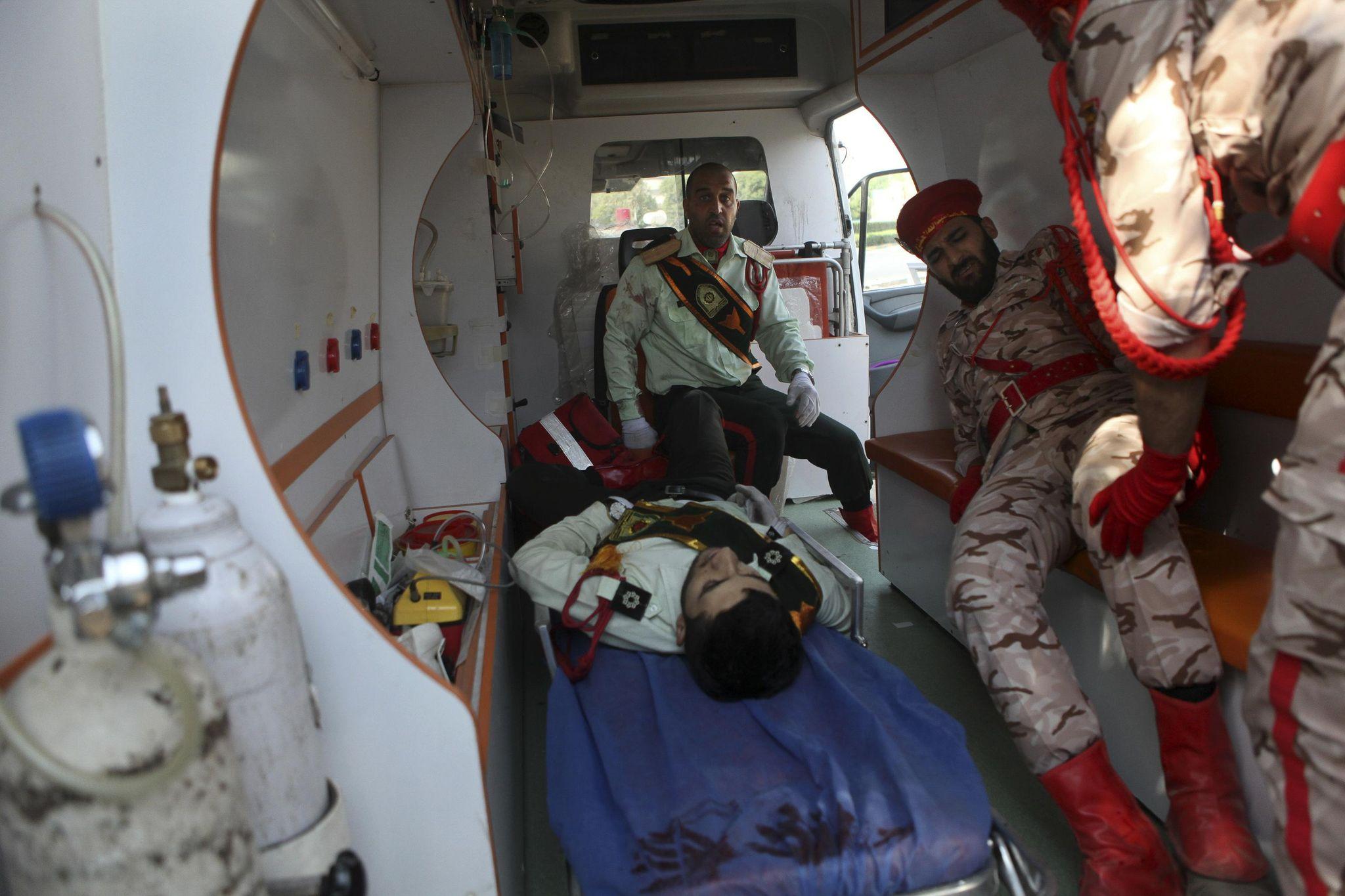 The Latest: Iran says US ally behind military parade attack - Washington Times