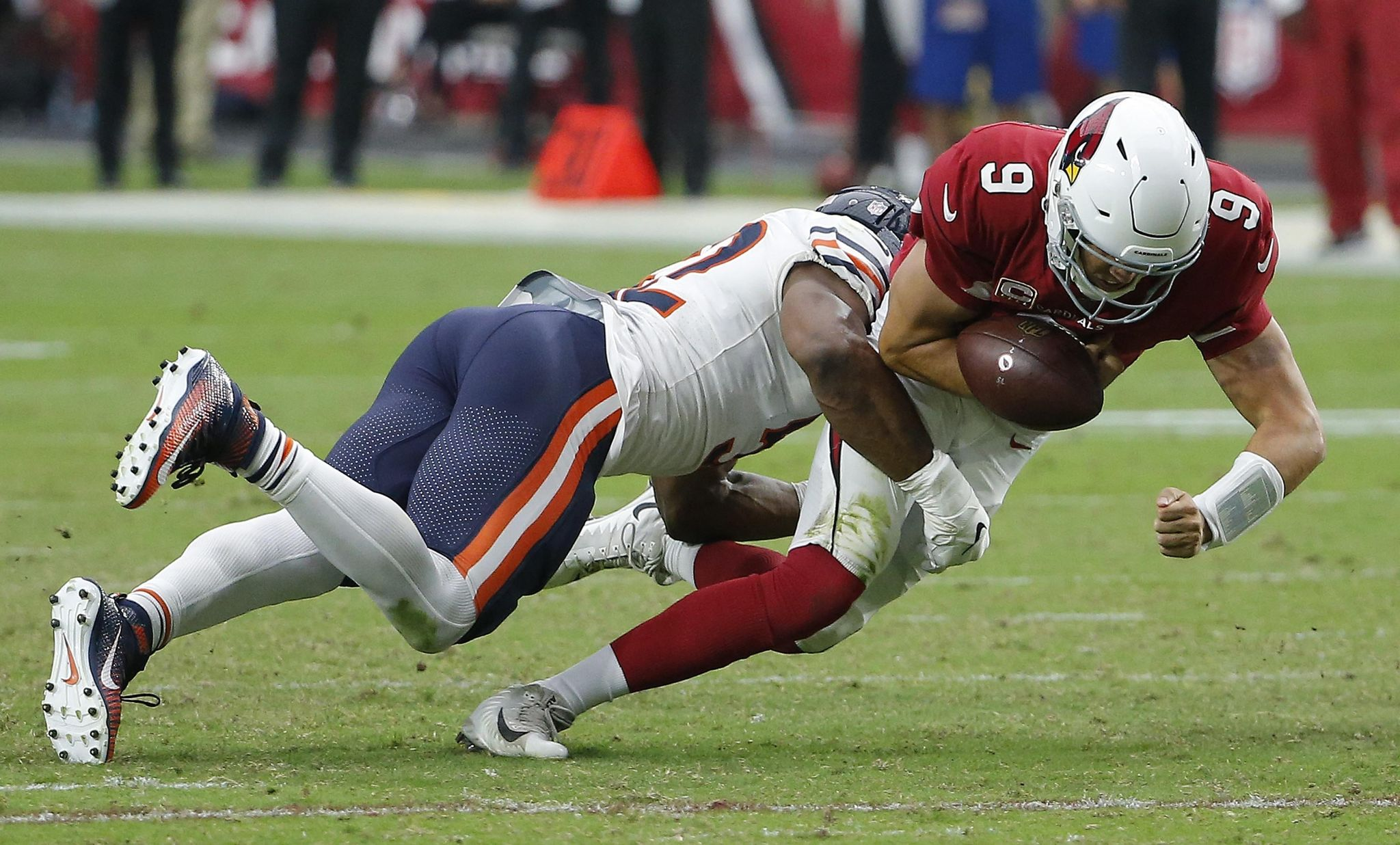 Cardinals facing quarterback quandary after loss to Bears - Washington Times