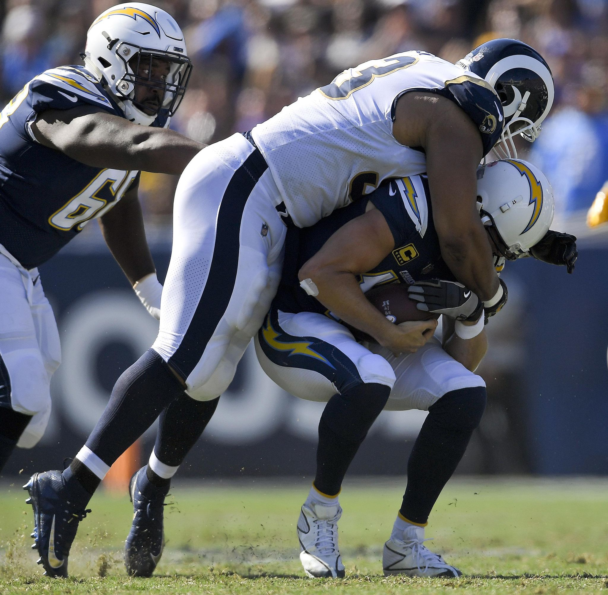 Rams rack up big numbers to beat Bolts in 1st fight for LA - Washington Times