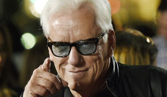 Actor James Woods has been locked out of his Twitter account over a tweet he sent out on July 20, 2018, that was found to be in violation of Twitter's rules. (Photo by Chris Pizzello/Invision/AP, File)