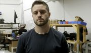 FILE - In this Aug. 1, 2018, file photo, Cody Wilson, with Defense Distributed, holds a 3D-printed gun called the Liberator at his shop, in Austin, Texas. Authorities in Taiwan have arrested Wilson who is wanted in the U.S. over an accusation that he had sex with an underage girl and paid her $500 afterward, official media reported. (AP Photo/Eric Gay, File)