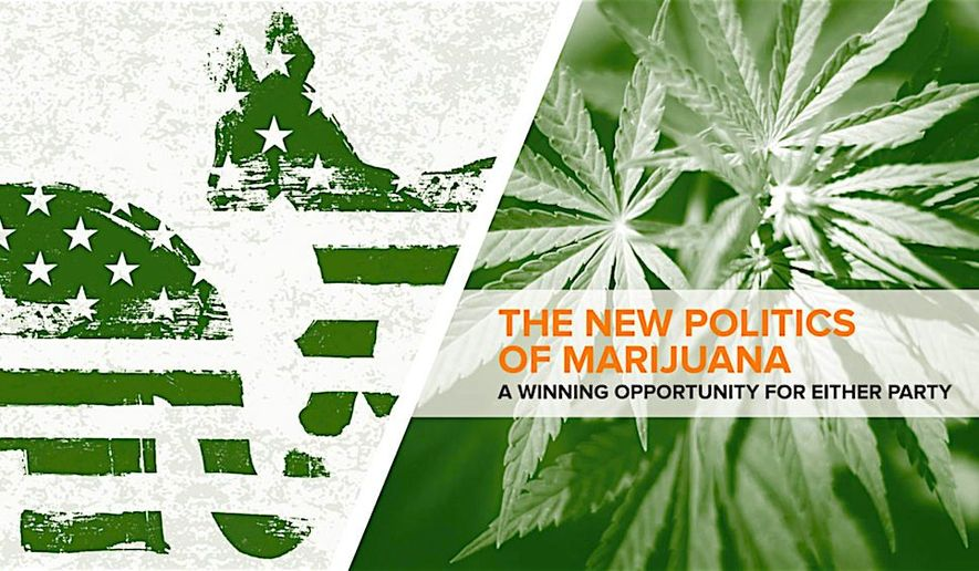 "The National Cannabis Industry Association has a marijuana policy reform guide and claim the issue could be a ""winning opportunity"" for either political party. (National Cannabis Industry Association)"