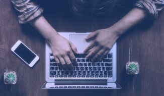 By Aree / shutetrstock.com Man using laptop computer