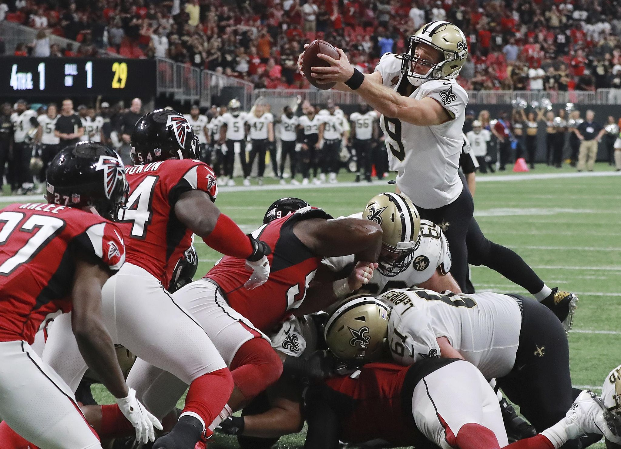Little defense to be found in Saints' OT win over Falcons - Washington Times